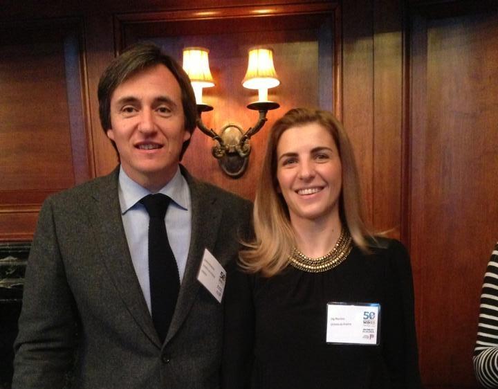 Die Macher des Poeira 2012, Jorge Moreira mit seiner Frau