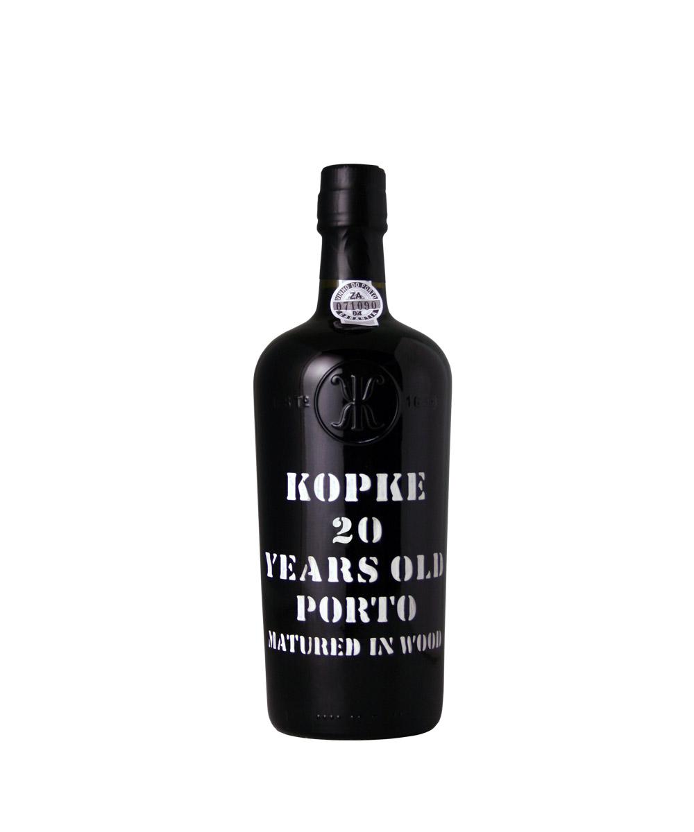 Kopke 20 Years im Shop des Porto & Douro Magazin