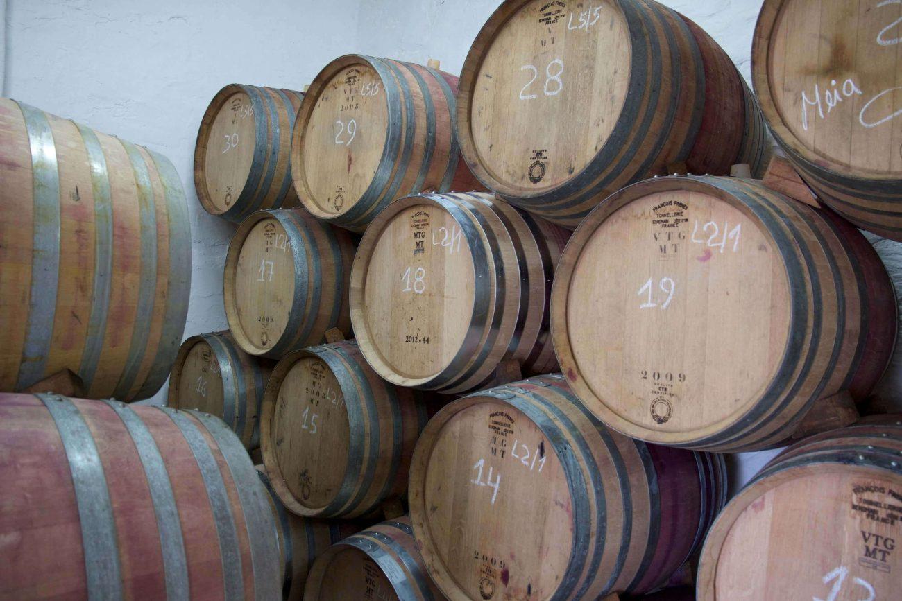Douro Weinfässer Rotwein Weinkeller
