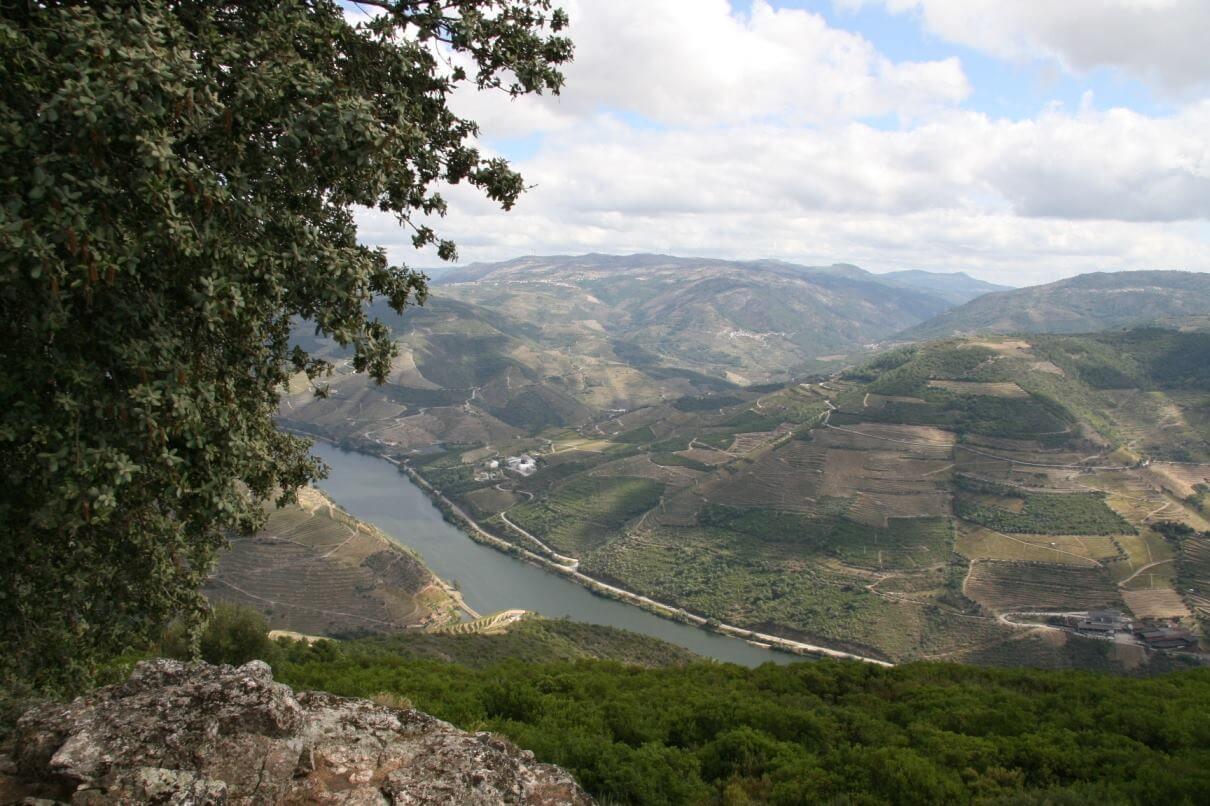 Portugal Douro Pinhao Aussichtspunkt