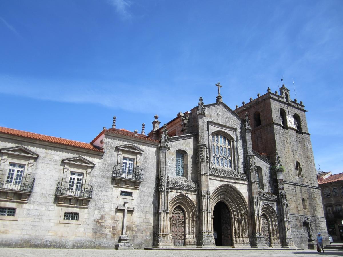 In Lamego im Douro-Tal gibt es viele Kirchen die zu besichtigen sind