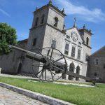 Kanone in Lamego zeigen die Geschichte der Stadt