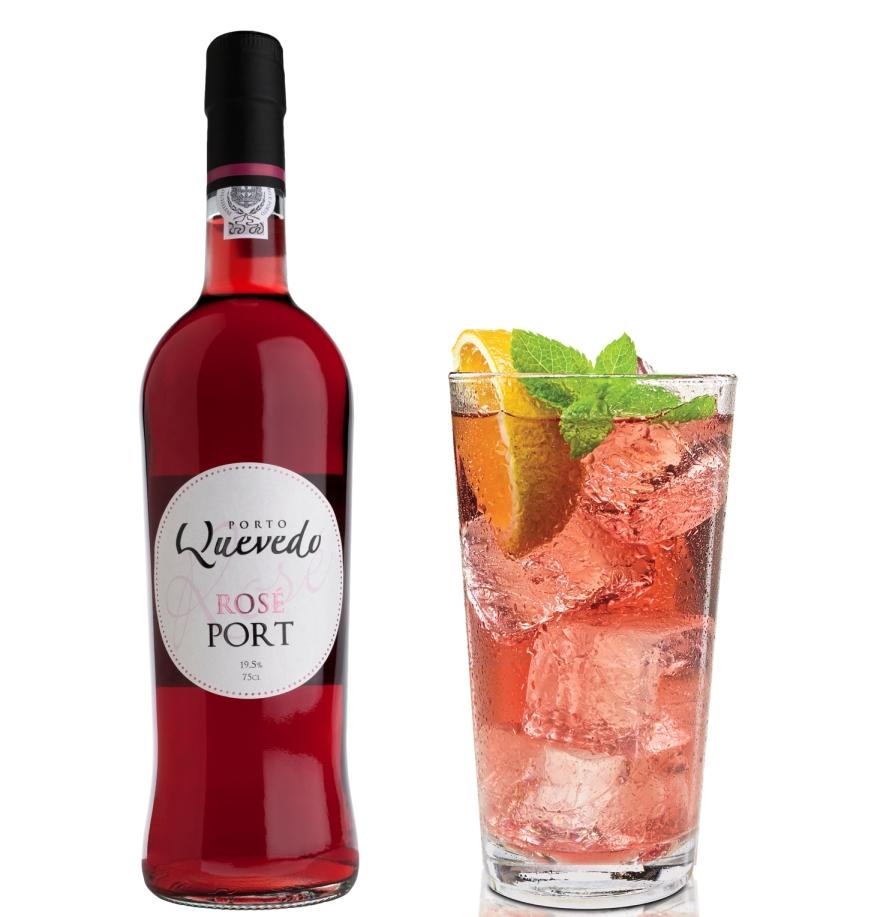 Pink Port von Oscar Quevedo ist ein perfekter Aperitif