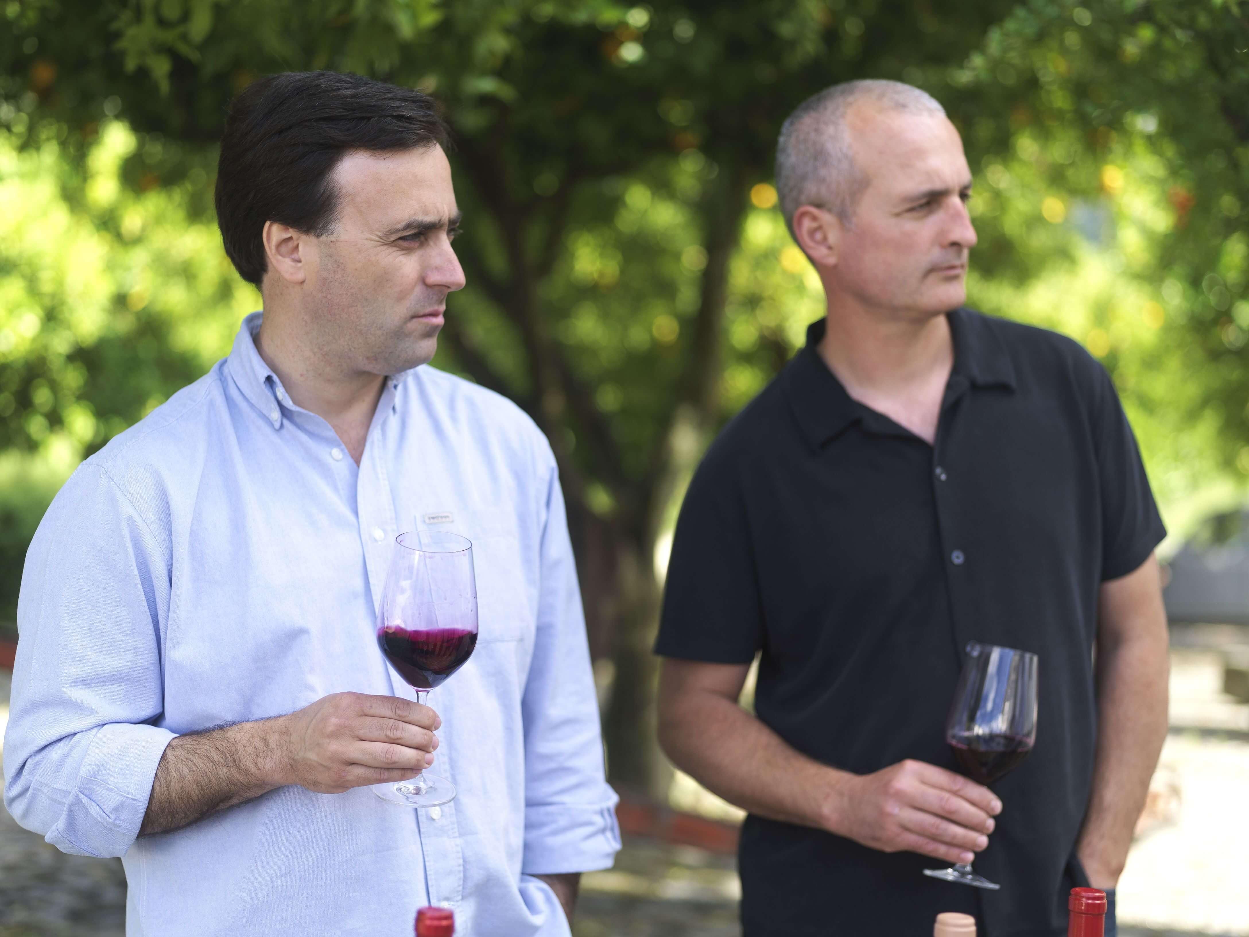 Zwei Winemaker aus dem Douro-Tal - Rui Stares und Fernando Coelho