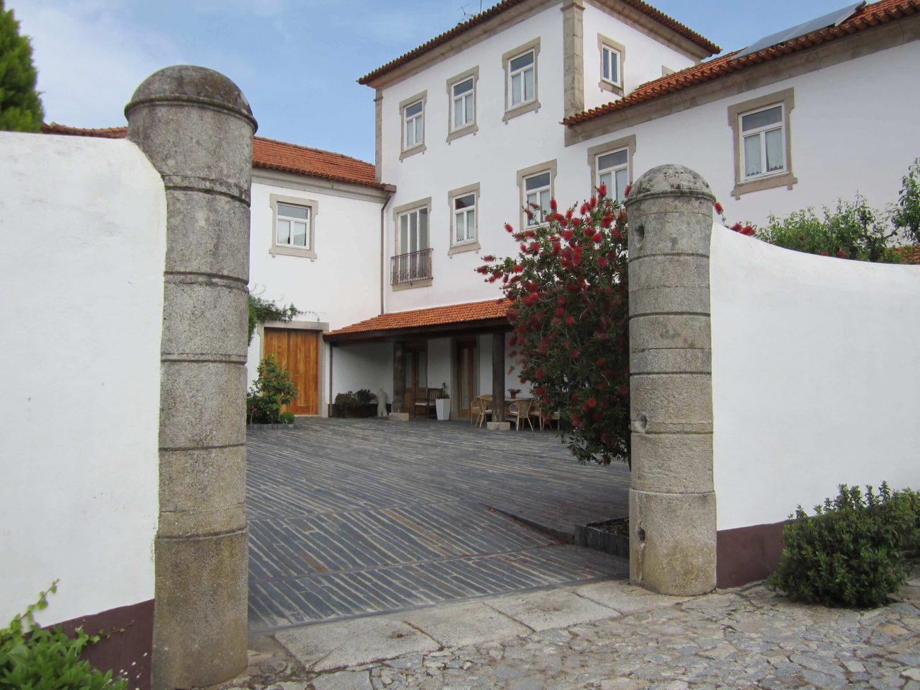 Weingut Quinta de Tourais mit zwei Gästezimmern