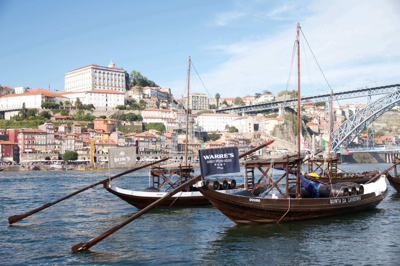 Porto Ribeira Douro Rabelos