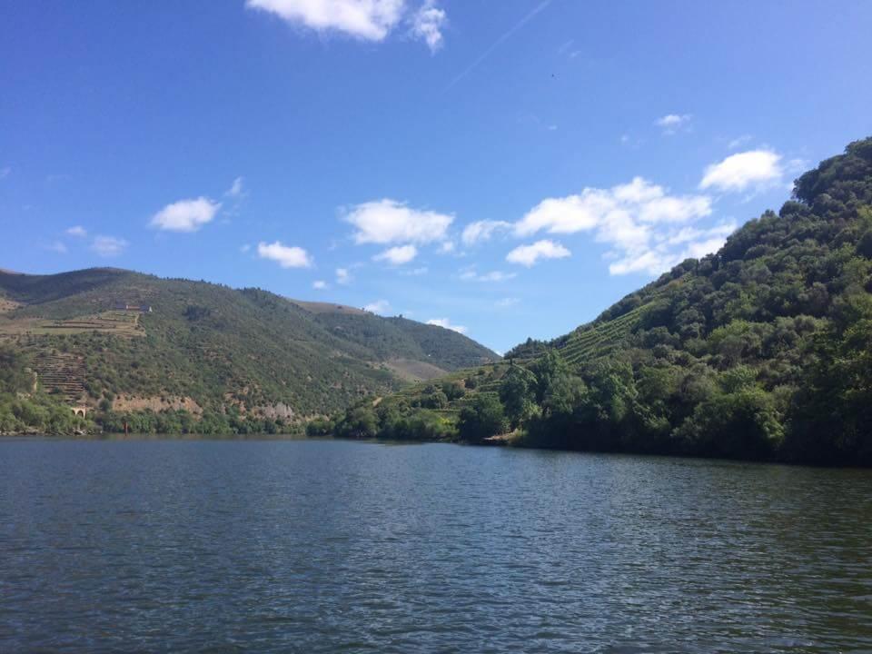 Portugal Douro Fluss Bootsfahrt Rabelos