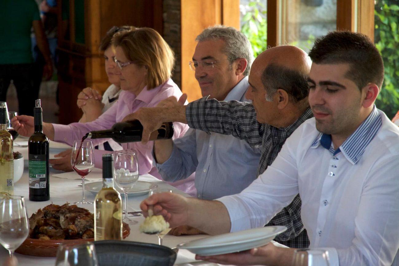 Portugal Douro Weingut Quinta de Tourais Weinverkostung