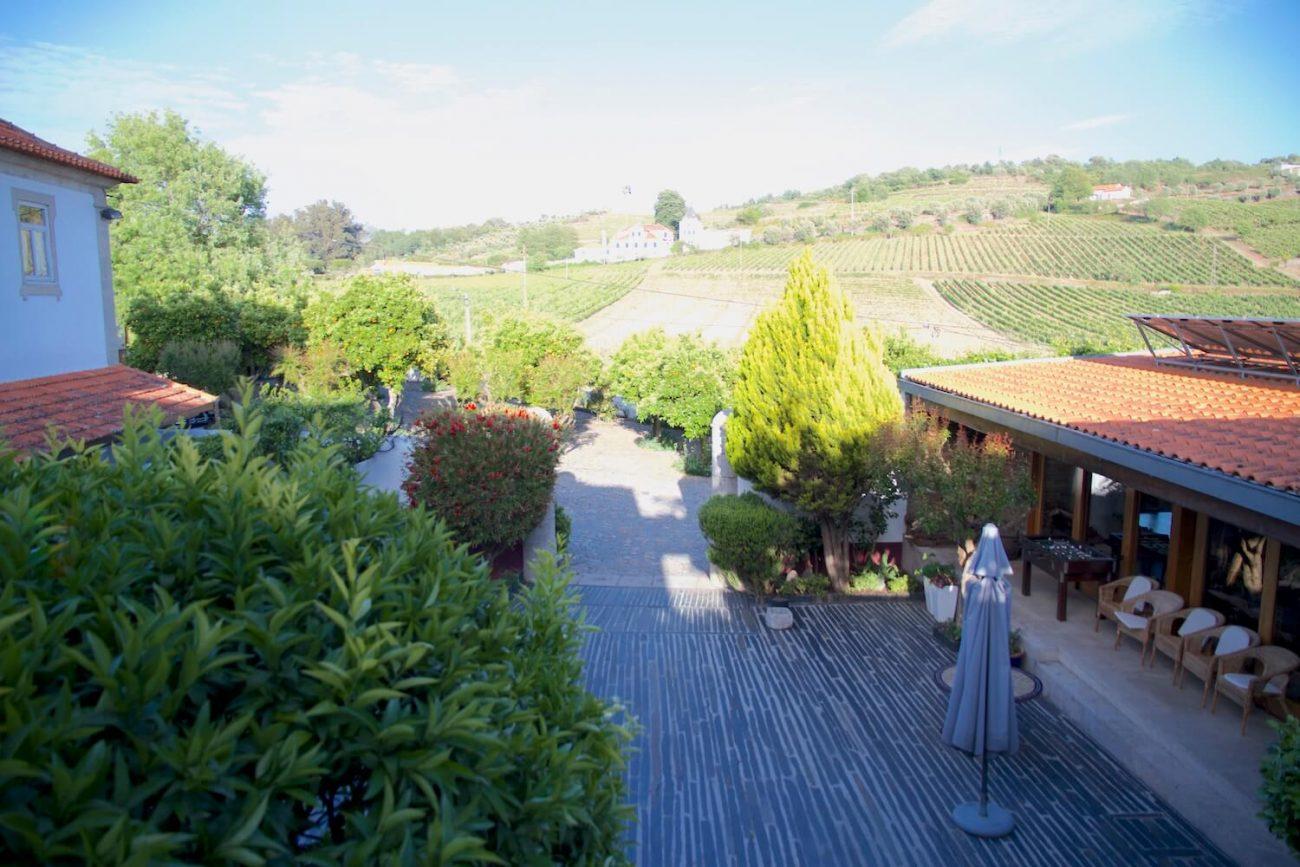 Douro Weingut Weinwochenende Weinverkostung Quinta de Tourais Hof des Weingutes