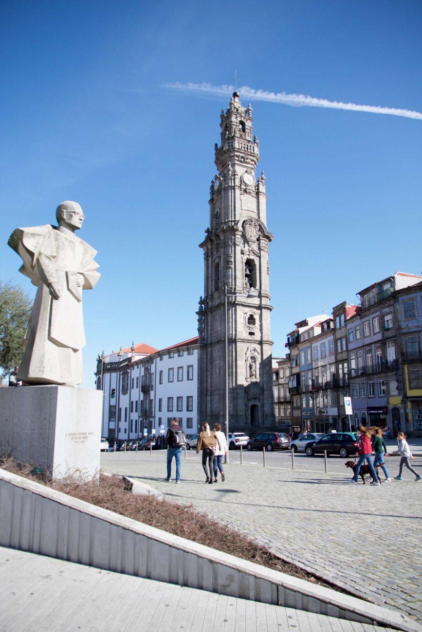 Porto Sightseeing Glockenturm Torre de Clerigos