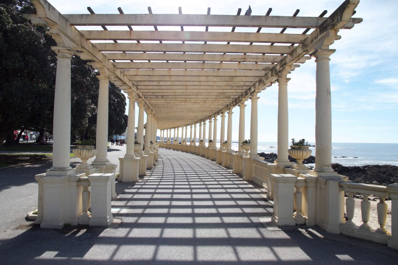 Portugal Porto Foz Pergola Uferpromenade