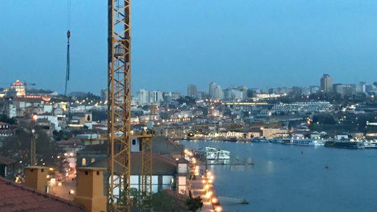 Porto Sightseeing Vila Nova de Gaia Aussichtspunkt Miradouro Ignez