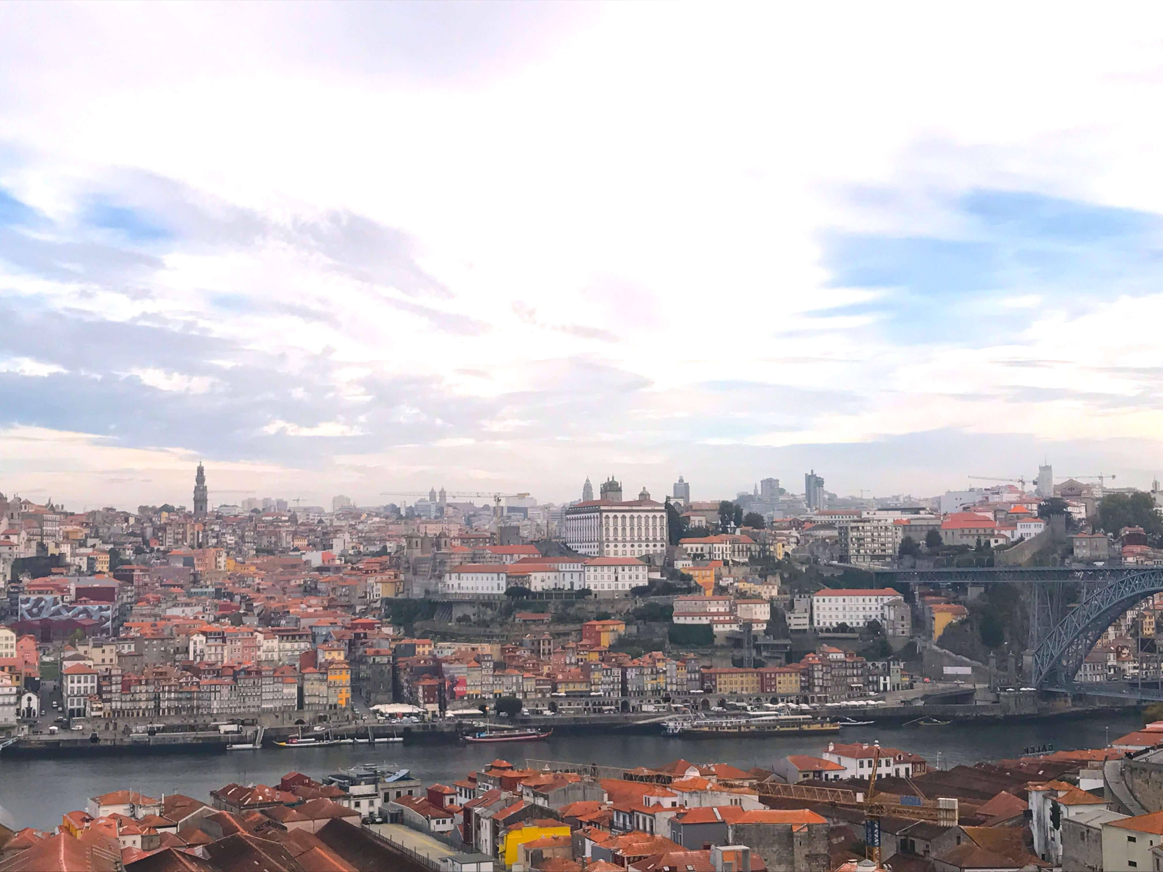 Porto – Blick auf die Ribeira von Vila Nova de Gaia