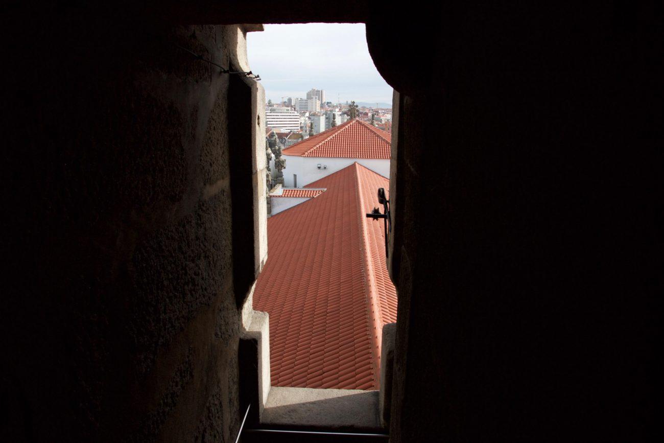 Porto Sightseeing Glockenturm Torre de Clerigos Aussichtspunkt Miradouro