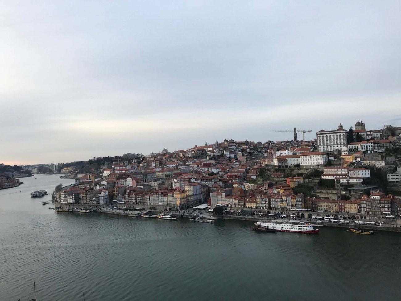 Portugal Douro Aussichtspunkt Douro Porto Ribeira