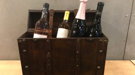 Portwein Geschenk mit Wein Weinkiste mit Portwein Douro-Wein Geschenk