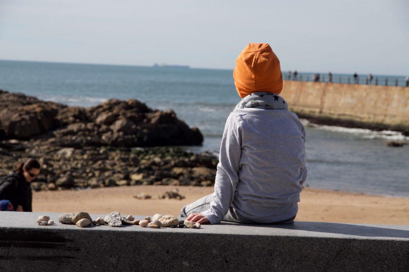 Portugal Porto Foz Atlantik Strandtag Strand