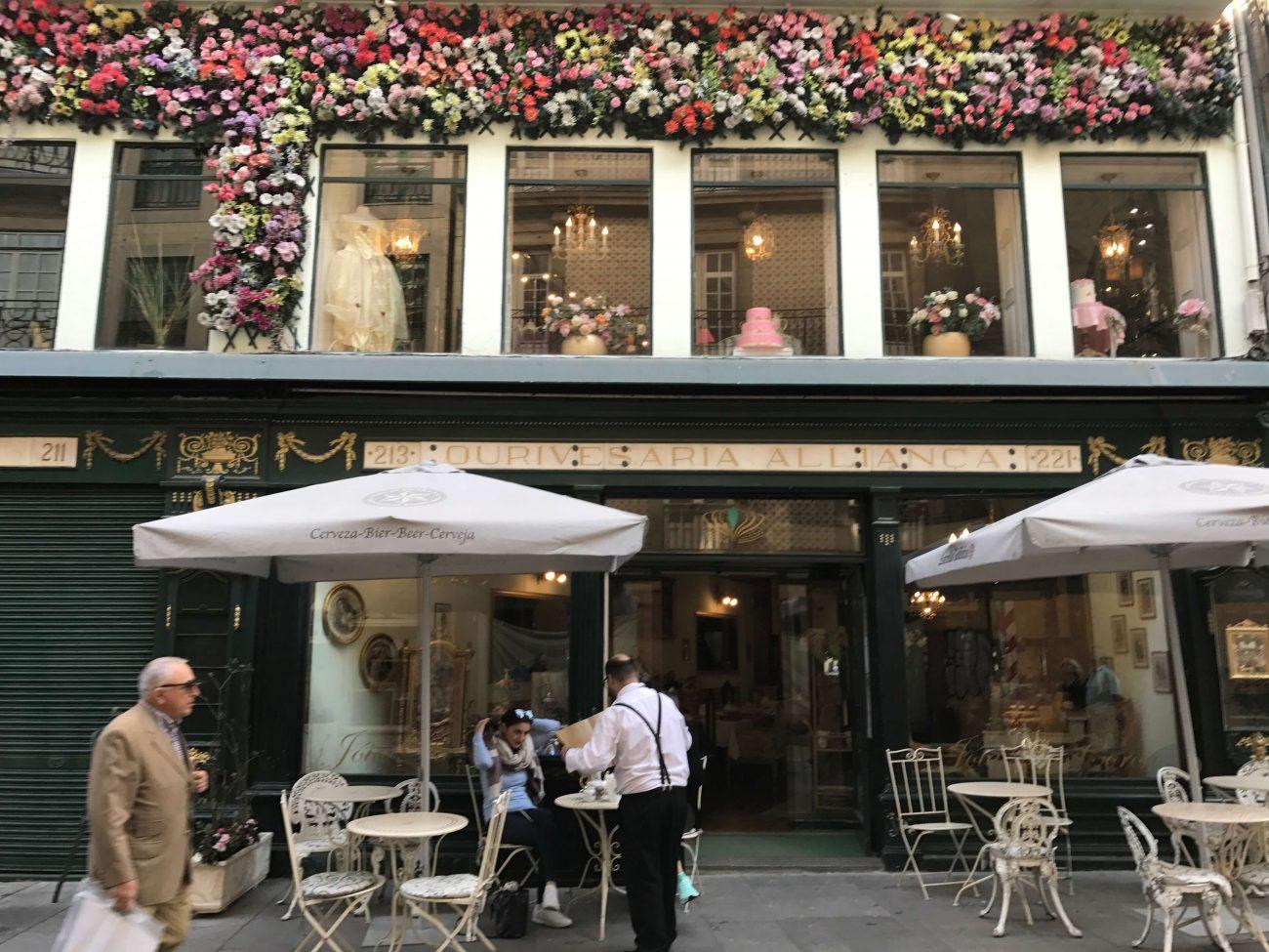 Porto Sightseeing Einkaufsbummel Rua das Flores Blumenstraße