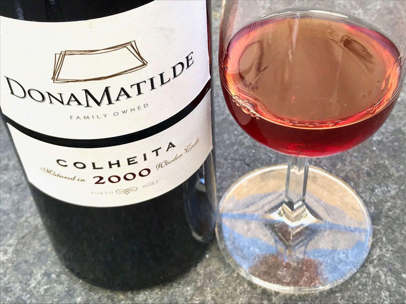 Portugal Fussballweltmeisterschaft Portwein trinken Portweinglas Dona Matilde Colheita 2000