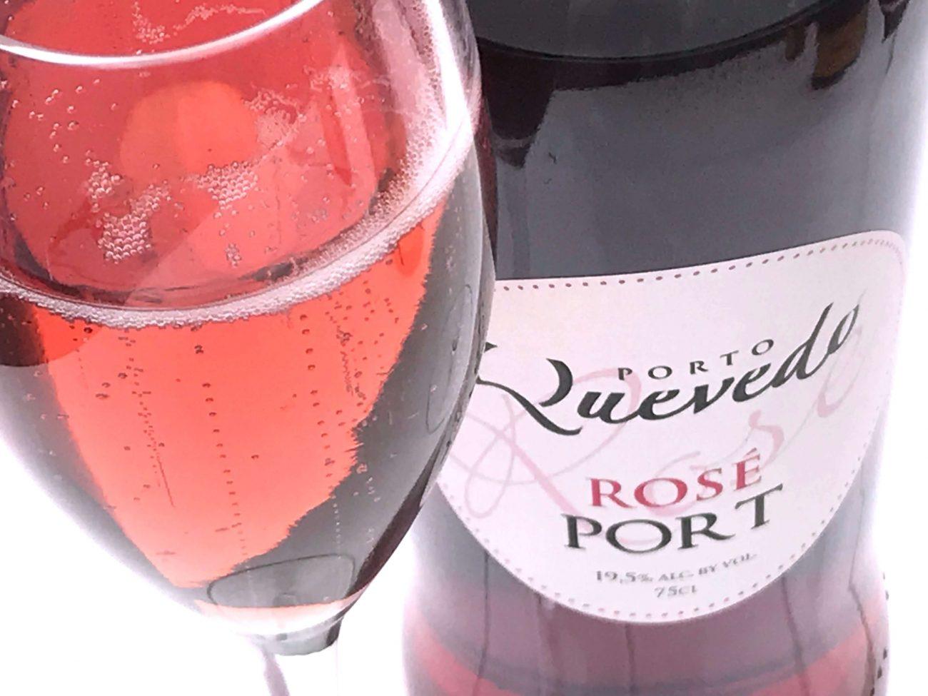 Portwein Pink Port von Quevedo - pur oder als Cocktail