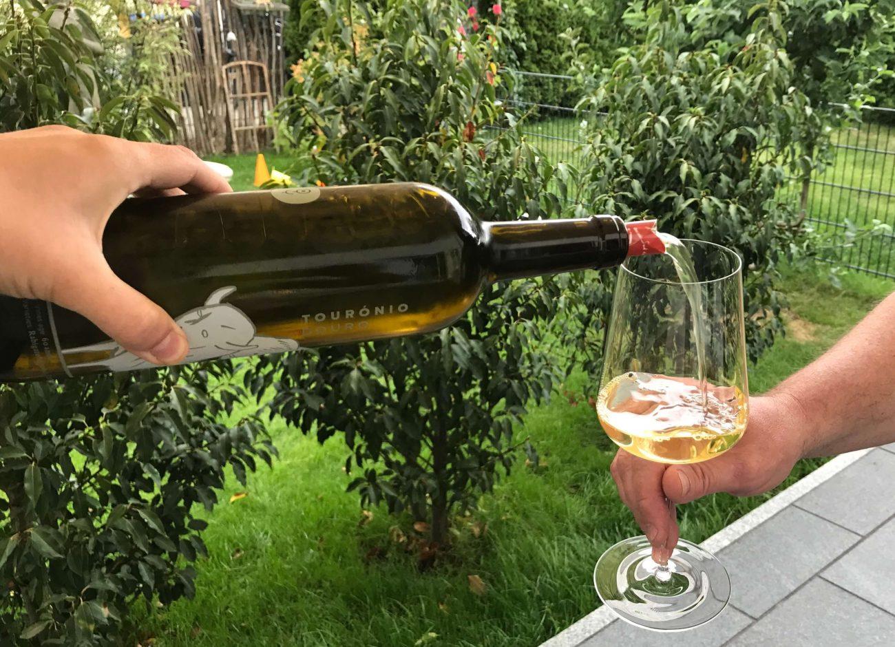 Touronio branco der Quinta de Tourais - ein Weißwein aus Portugal
