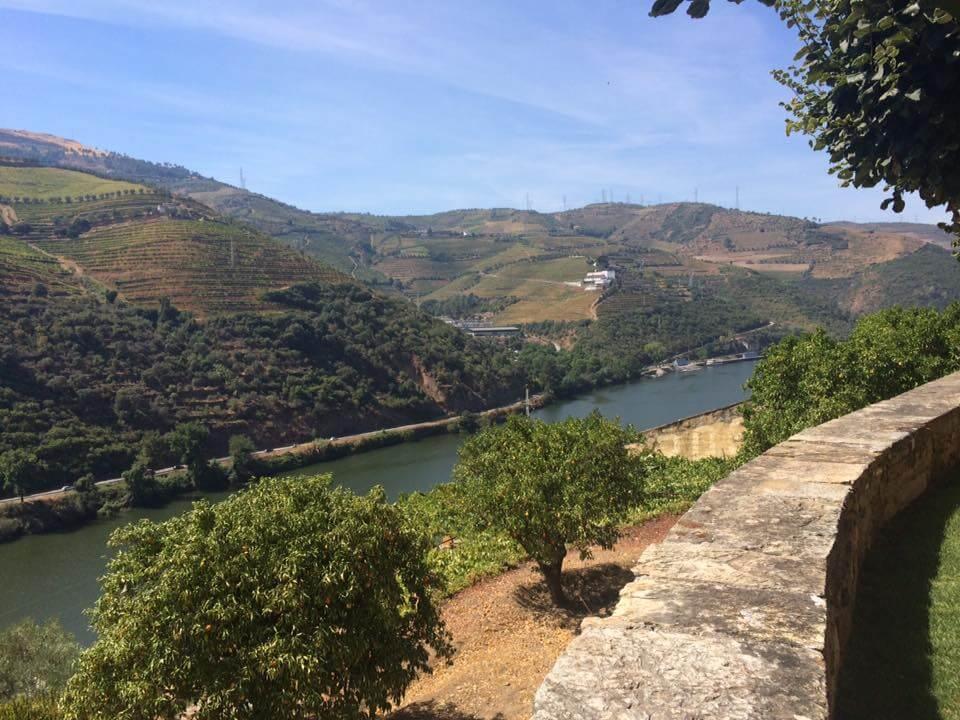 Douro-Tal Douro Fluss Aussicht Quinta Dona Matilde