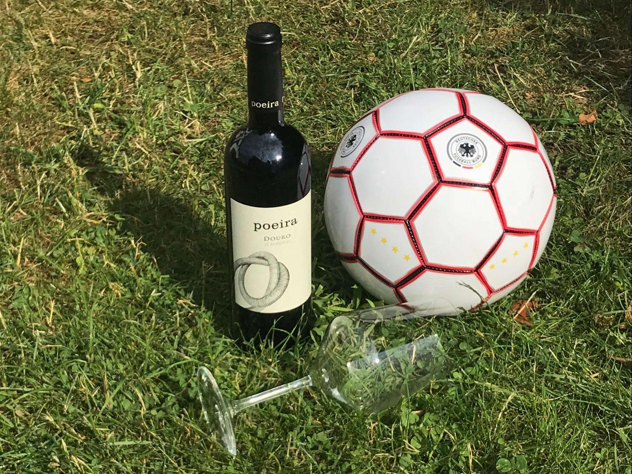 Portugal Fußballweltmeisterschaft Rotwein trinken Quinta da Poeira Jorge Moreira