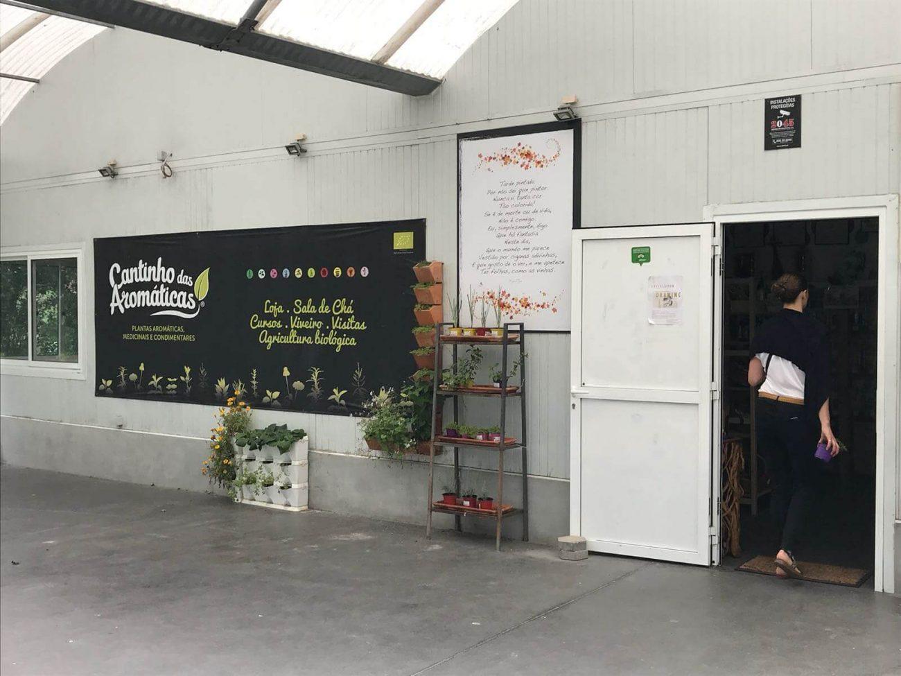 Porto Vila Nova de Gaia Cantinho das Aromaticas Biologischer Anbau Geschäft