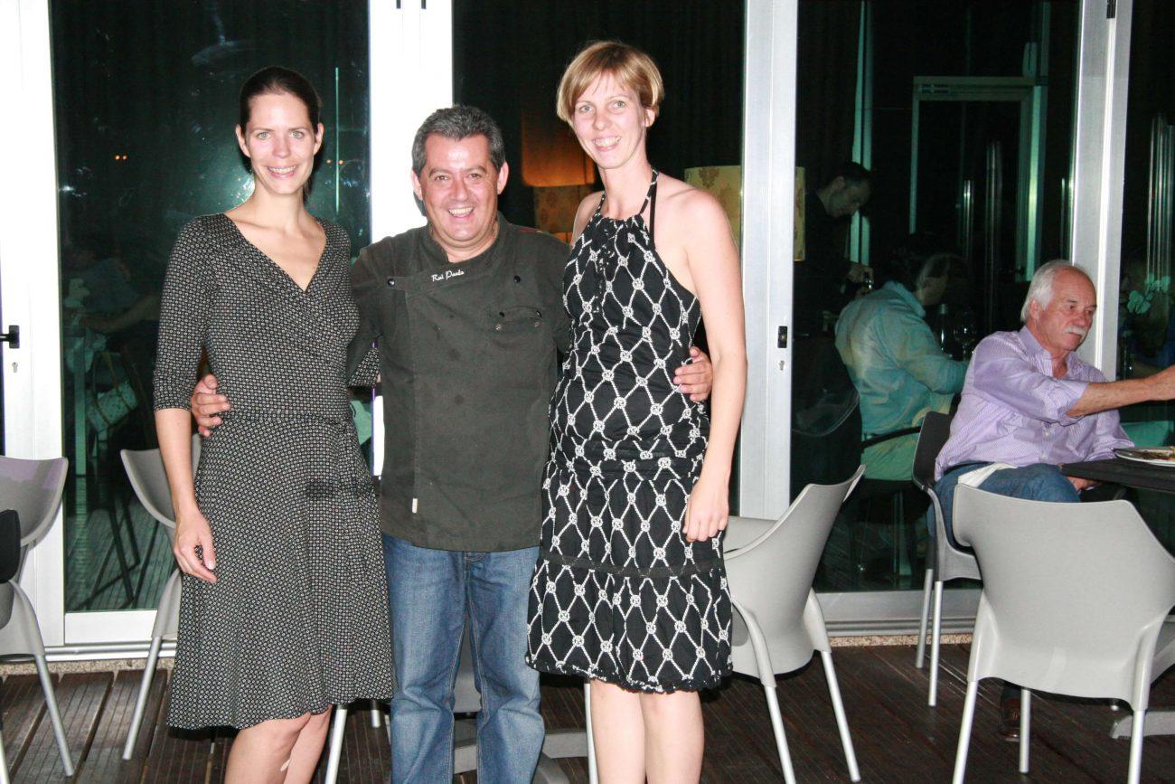 Erster Besuch des Restaurant DOC im Douro-Tal und Kennenlernen von Rui Paula