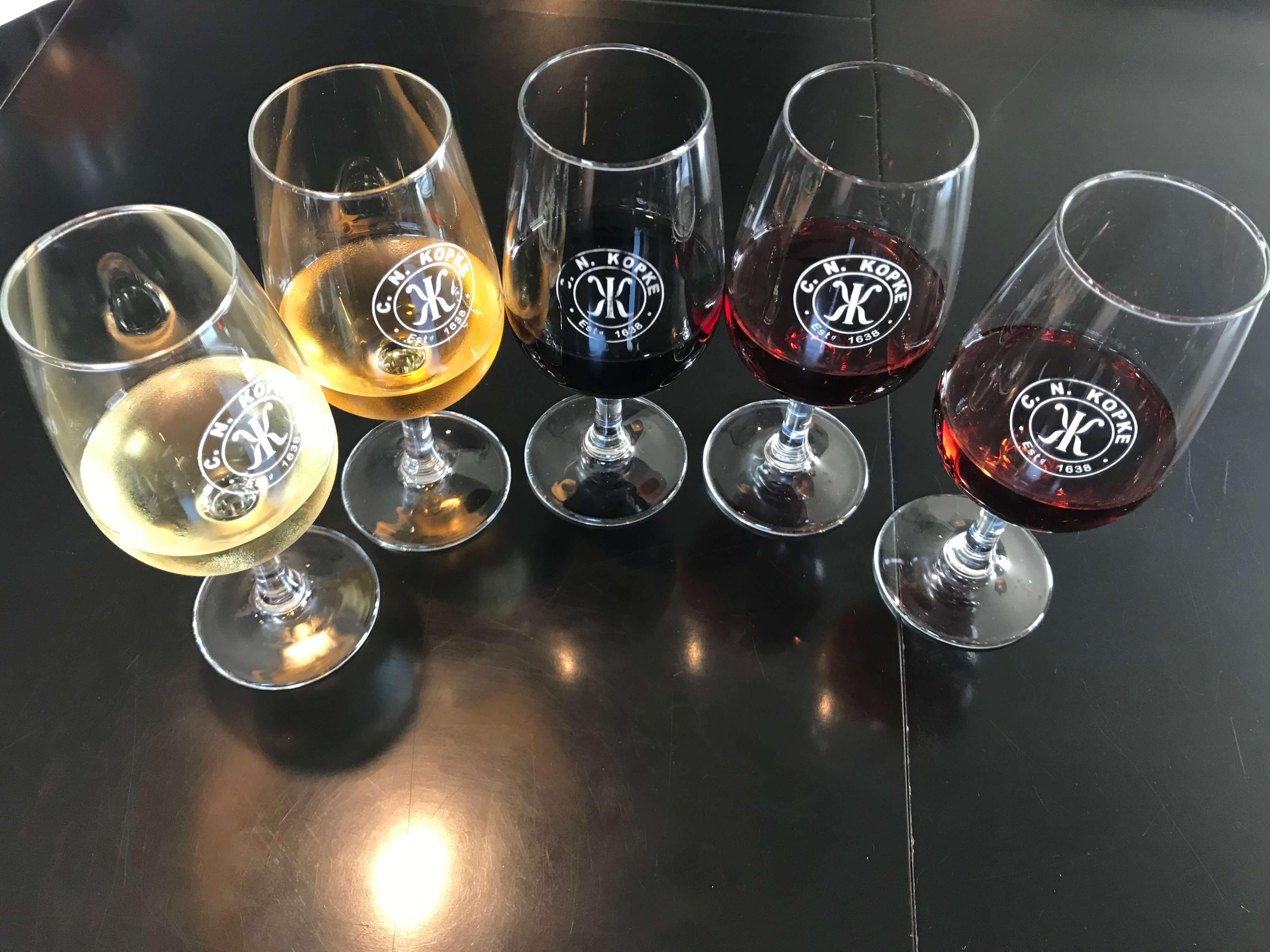 Portweinstile wie LBV, Ruby, Tawny und Vintages