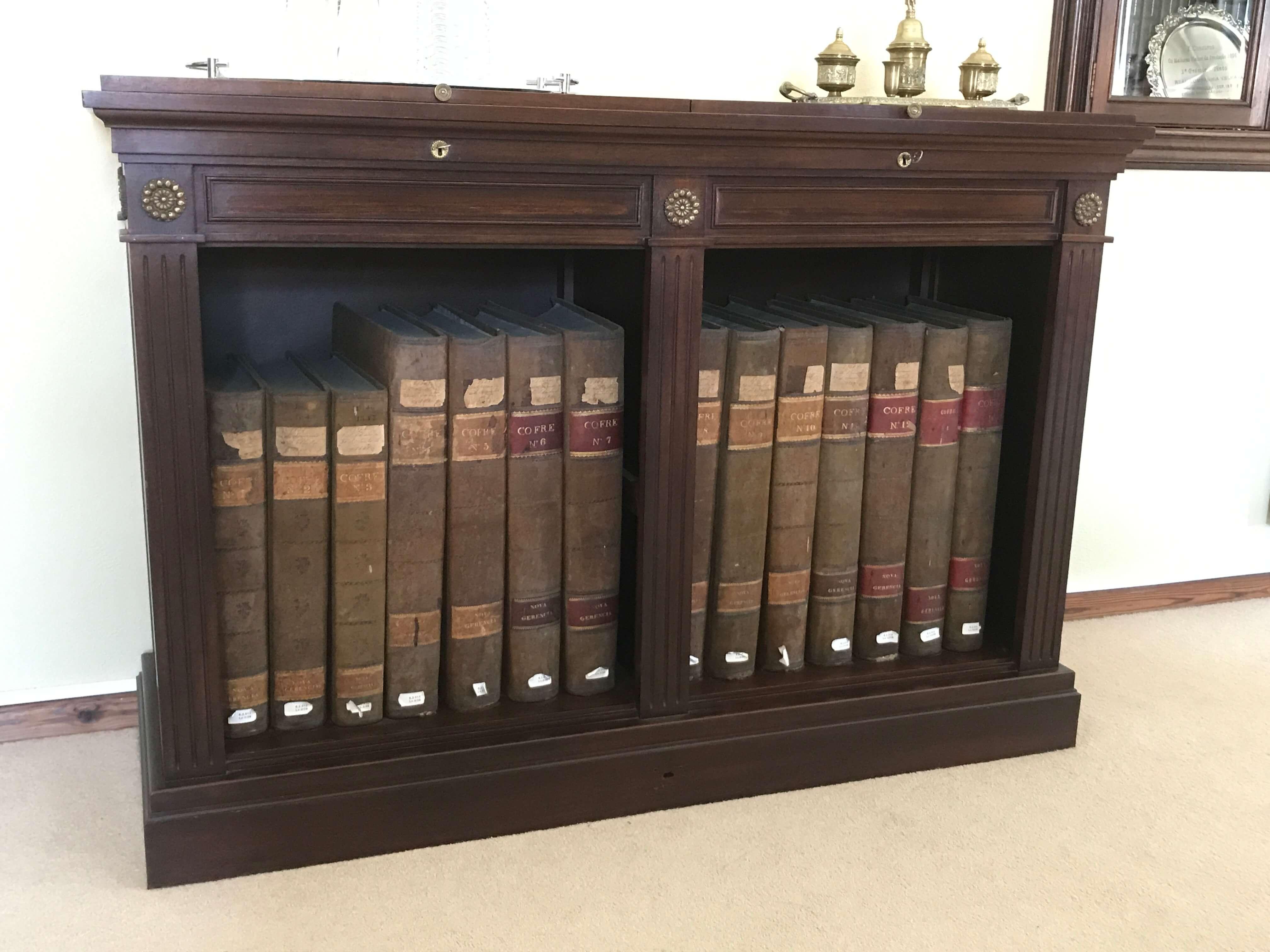 Alte Kassenbücher des ersten Portweinunternehmens