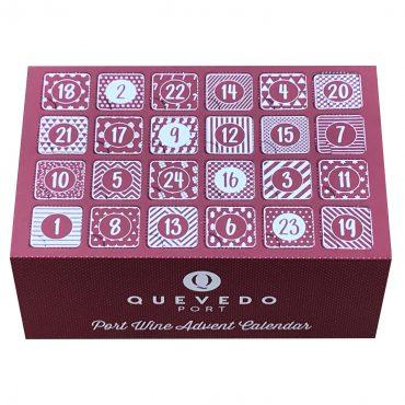 Adventskalender mit Portweinen von Oscar Quevedo