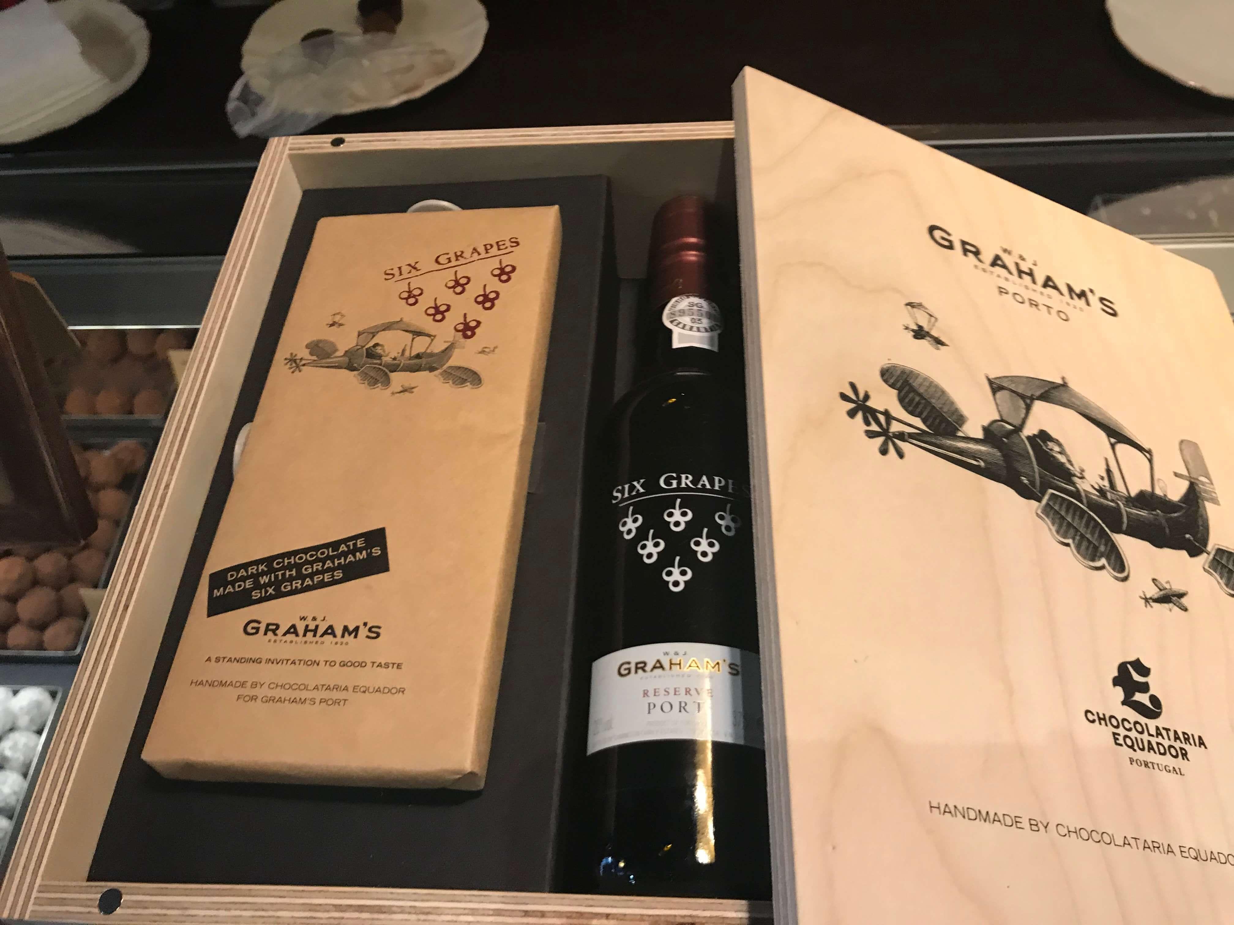 Portwein und Schokolade - eine Kombination zum Dahinschmelzen