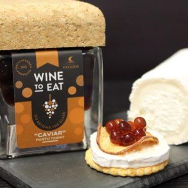 Portwein Kaviar - ein toller Aperitif mit Cracker und Ziegenkäse