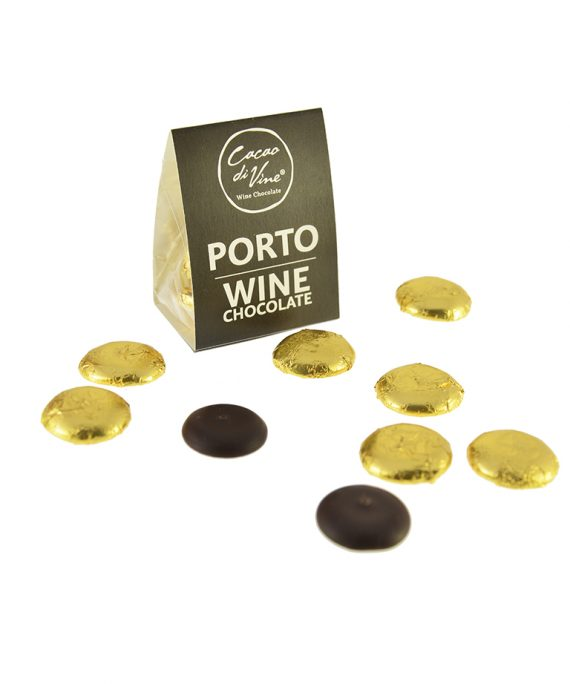 Portwein Schokolade - Schokoladentropfen von Cacao di Vine