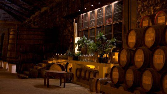 Weinkeller Besichtigung von Quinta da Pacheca im Douro-Tal bei Vila da Regua