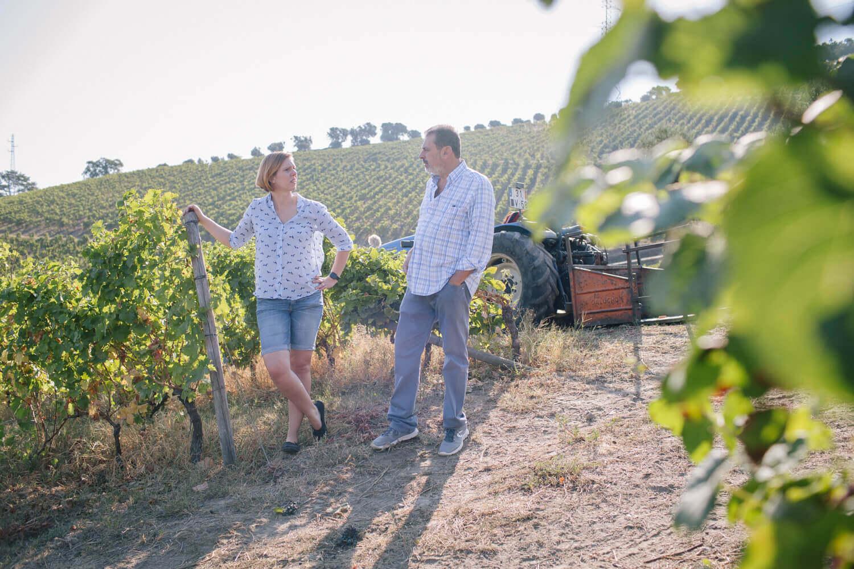 Kristin Rothe im Gespräch mit Miguel Braga - Eigentümer und Winemaker der Quinta do Mourão