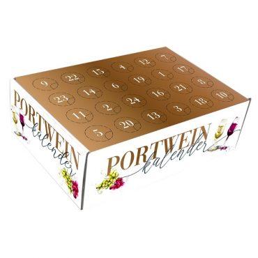 Portwein Wein Adventskalender