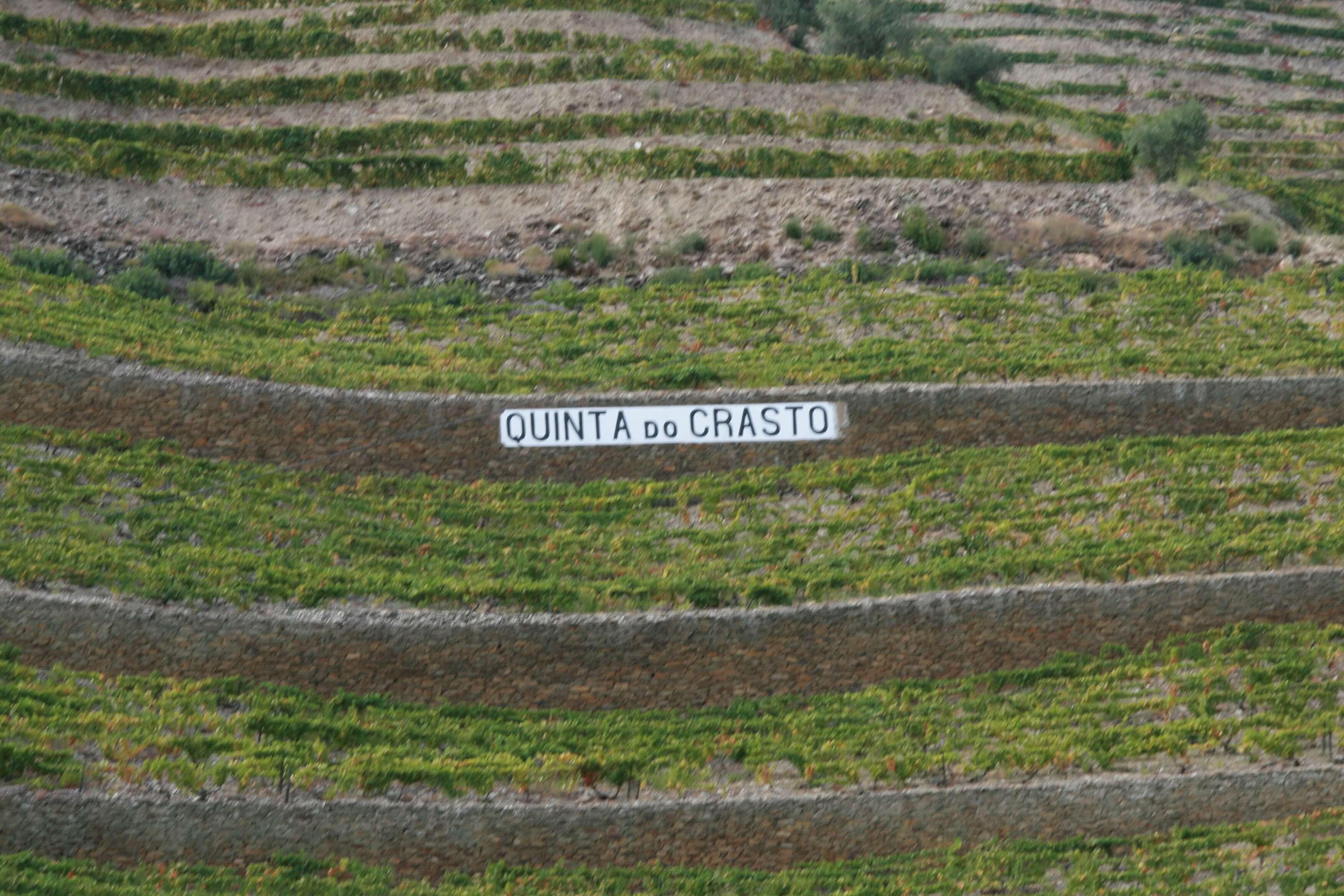 Quinta do Crasto im Douro-Tal in Portugal