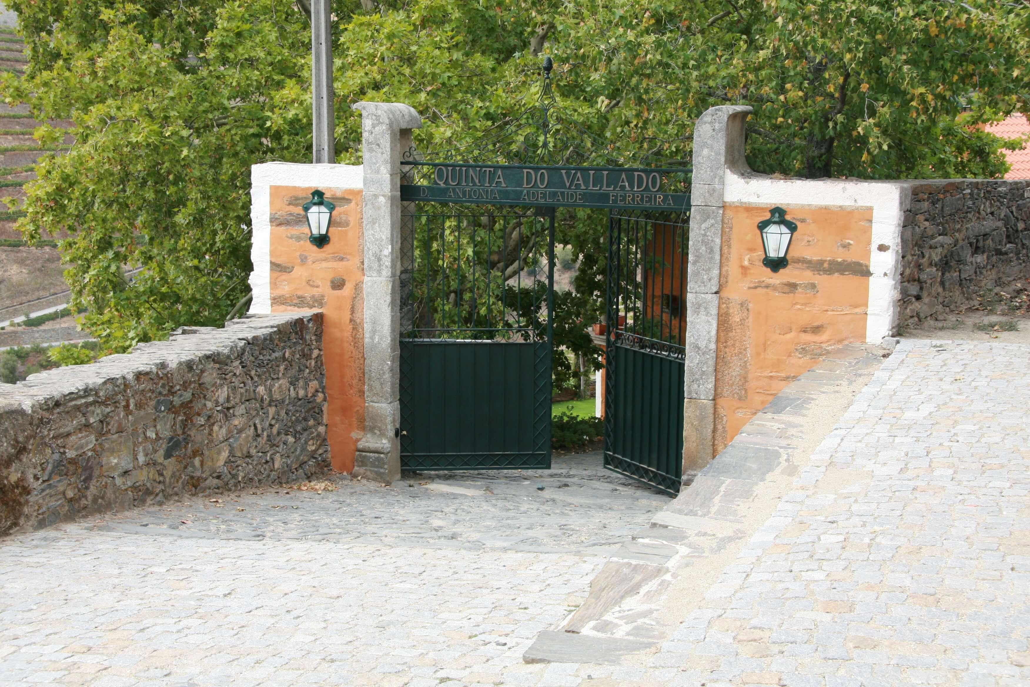 Quinta do Vallado im Douro-Tal in Portugal