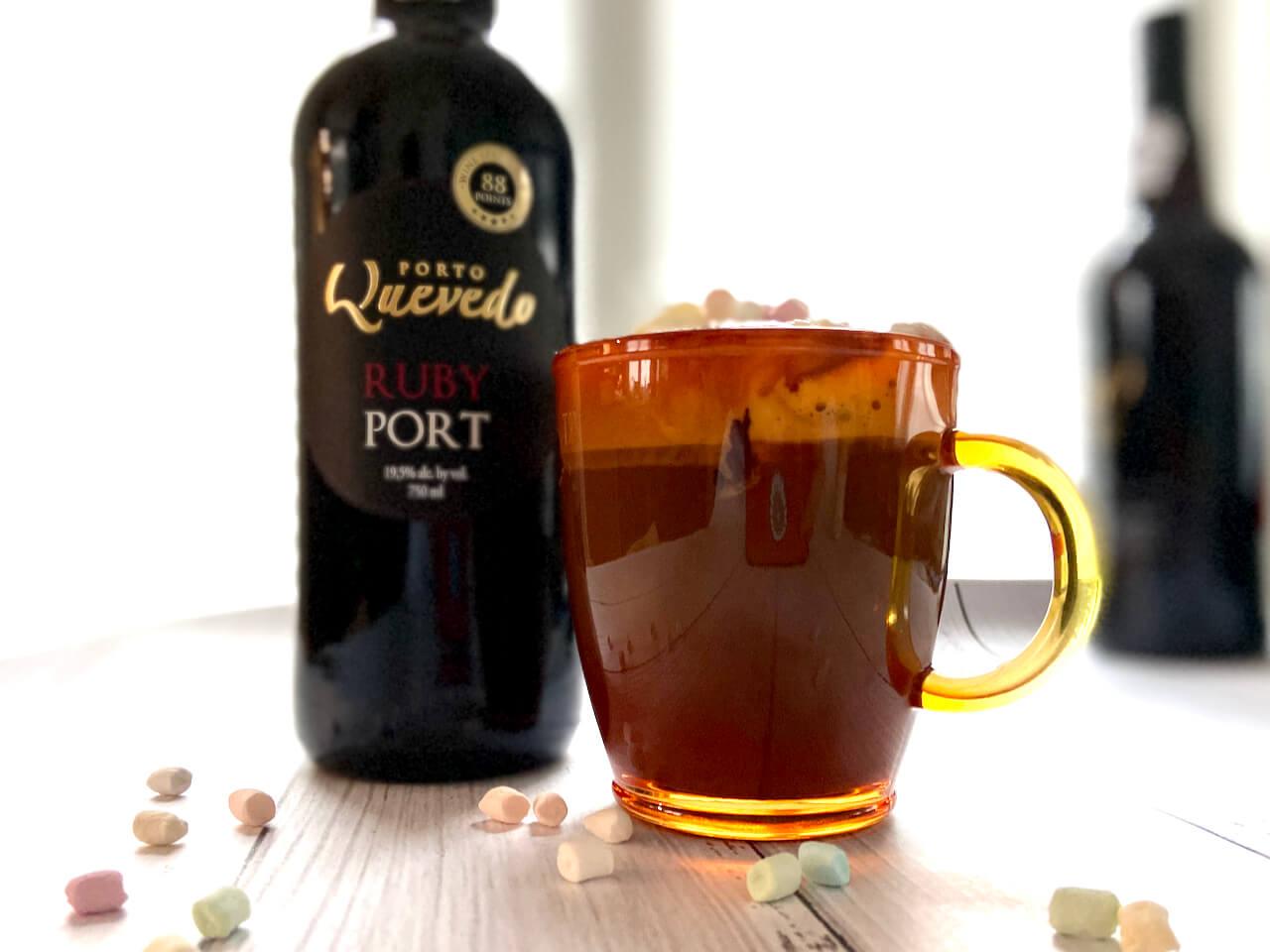 Rezept: Heiße Schokolade mit Portwein